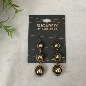 Sugarfix by BaubleBar Gold tone Earrings